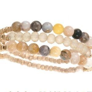 Jewelry - 🆕Semi Precious bead bracelet set